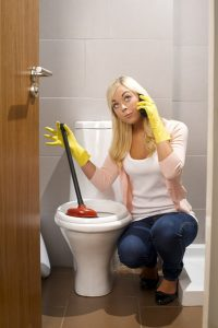 woman-with-plunger